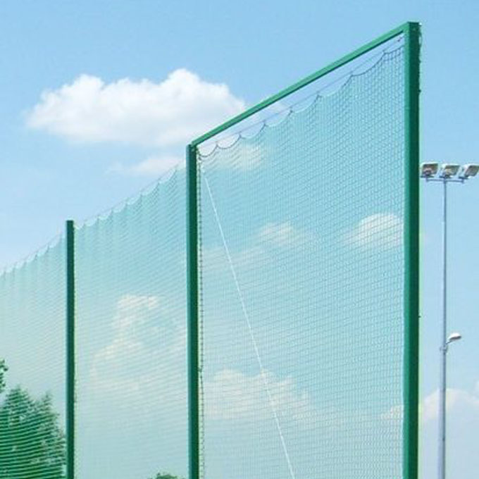 UPPER BAR FOR PROTECTION NETS