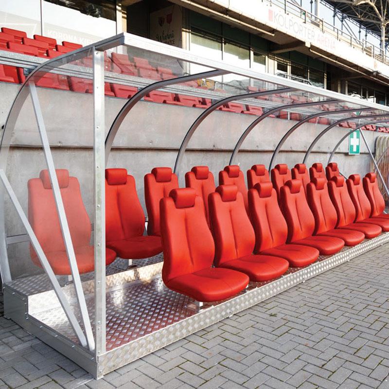Kabina dla zawodników Gama-2