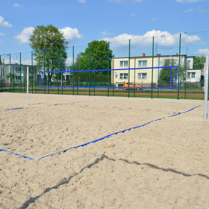 LINES DEFINING BEACH VOLLEYBALL FIELD