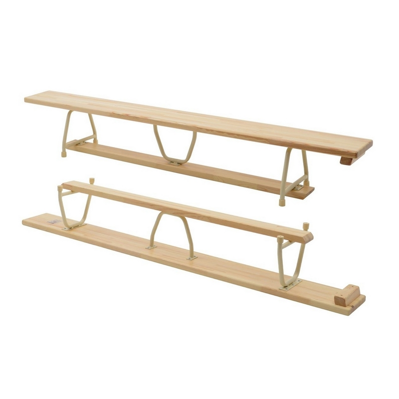 GYMNASTIC BENCH - 2 M