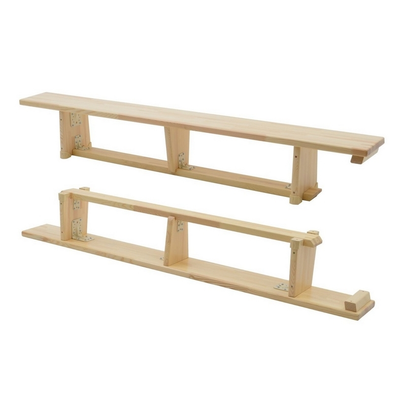 GYMNASTIC BENCH - LENGTH 2 M