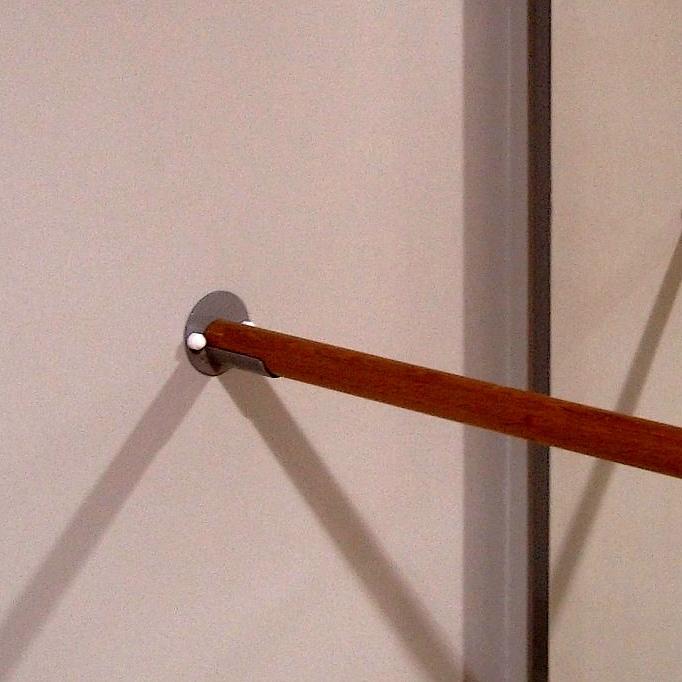 Poręcz drewniana do luster gimnastycznych