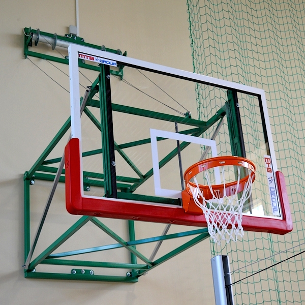 VERTICALLY LIFTED BASKETBALL STRUCTURE 200 CM