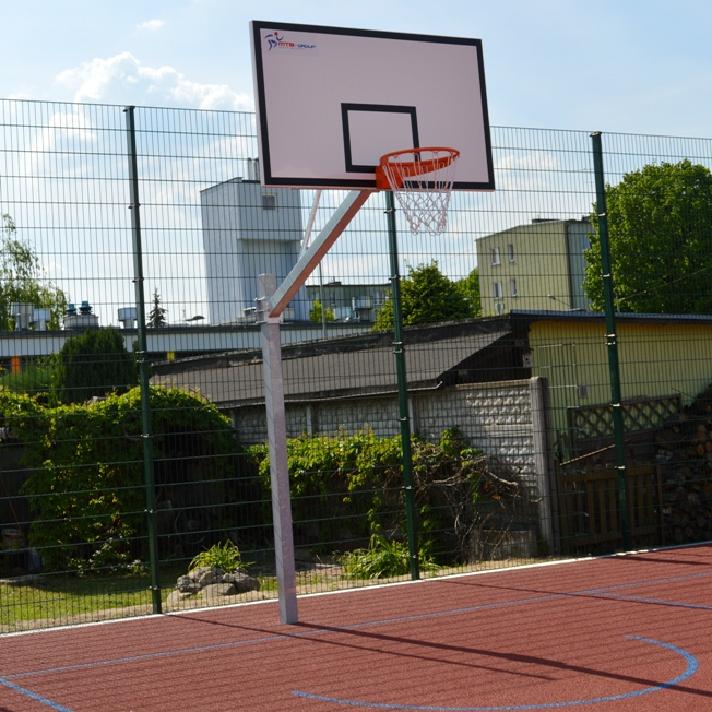 SINGLE POST BASKETBALL CONSTRUCTION 120 CM
