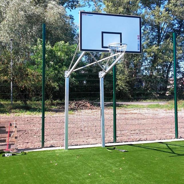 DOUBLE POST BASKETBALL CONSTRUCTION 120 CM