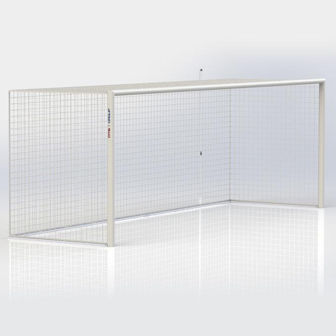 Futbalová brána mobilná 7,32x2,44 m