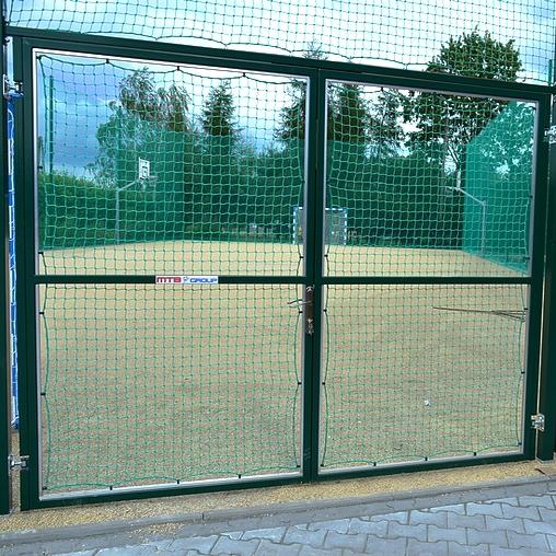 Brama stalowa dwuskrzydłowa