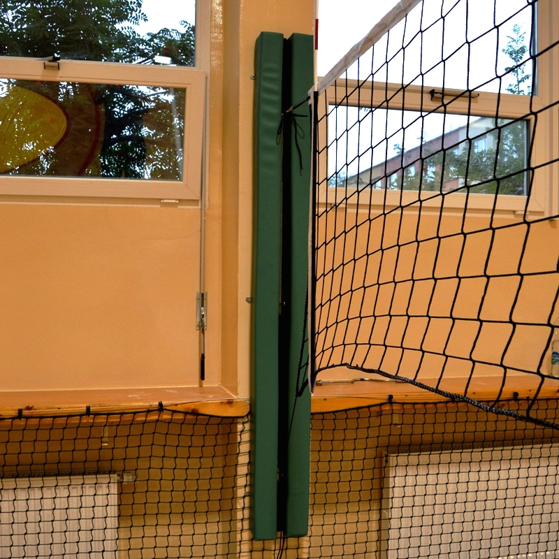 PROTECTION PADS FOR WALL-MOUNTED VOLLEYBALL RAILS