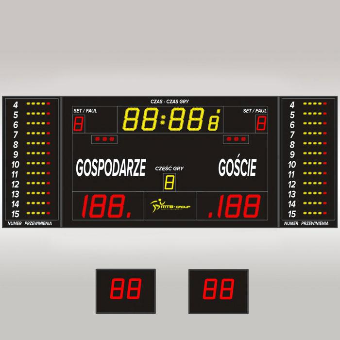 Tablica wyników sportowych MTB pro 6