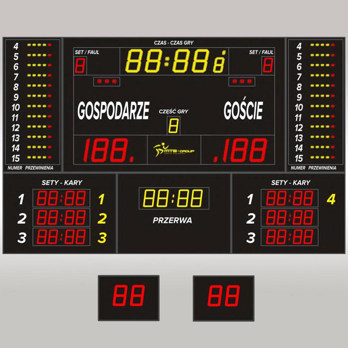 Tablica wyników sportowych MTB pro 7