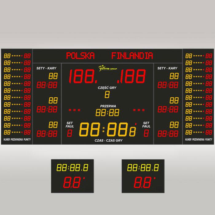 Tablica wyników sportowych MTB pro 8