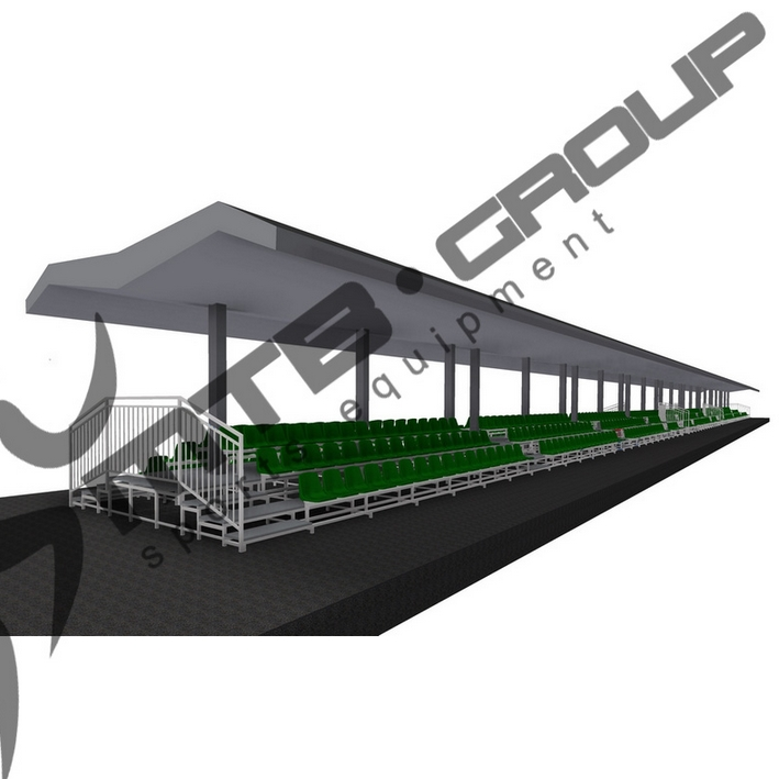 STABLE BLEACHER MTB TWO-SIDE 3R OUTSIDE